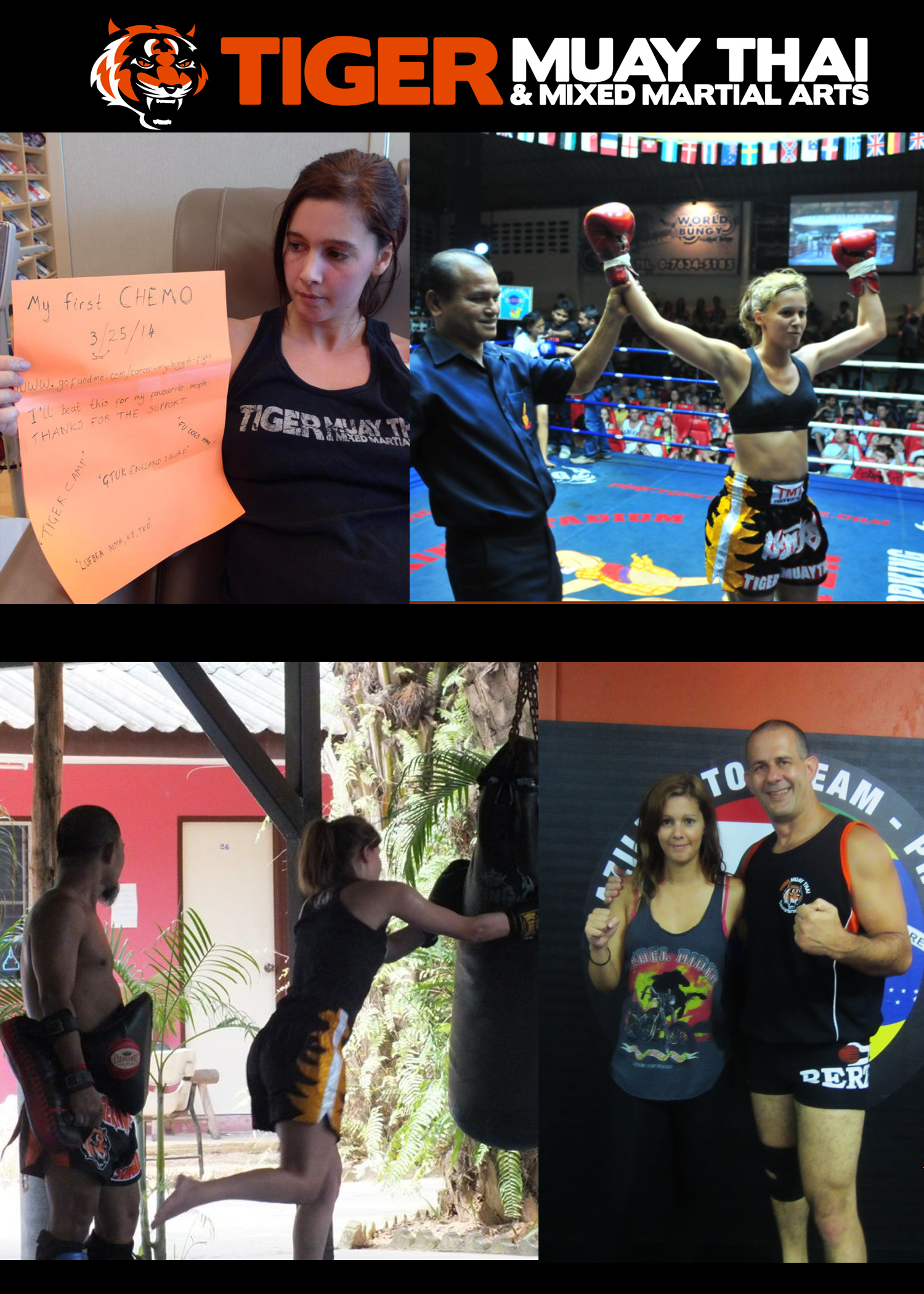 How Tiger Muay Thai changed my life and helping me face my biggest