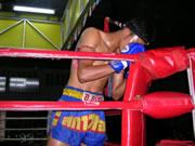 Muay Thai Wai kroo dance.