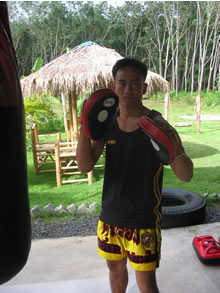 Muay Thai warrior and professor.