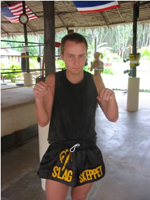 Muay Thai & Mixed Martial Arts fighter from Sweden.