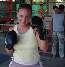 Learning Muay Thai and enjoying the tropics of Phuket, Thailand.