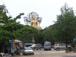 Buddhist monument in Thailand.