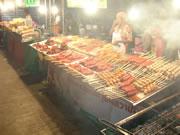 Spicy Thai foods.