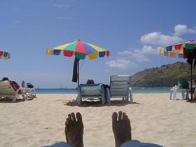 Nai Harn Beach, Phuket, Thailand.