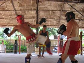 Muay Thai training photo