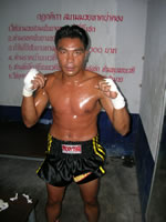 Champion Muay Thai fighter