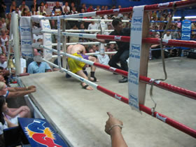 Muay Thai fight patong, Thailand.