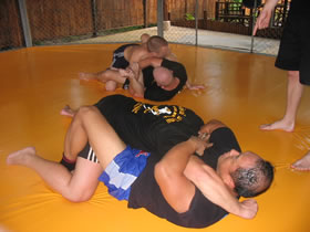 Submission grappling photos.