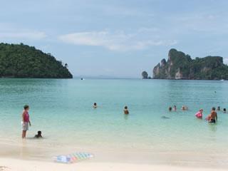 blue lagoon @ Phi Phi Island