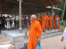 Senior Buddhist monk.
