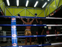 1st round KO over Thai fighter