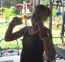 Muay Thai guest from Australia.