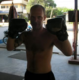 Muay Thai guest from Russia.