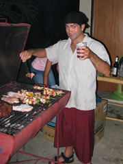 BBQ night at MMA Phuket.