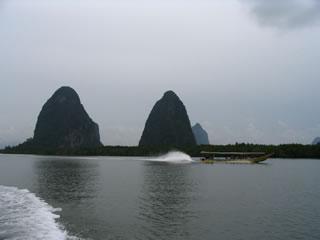 Islands near Phuket and Phang Nga, Thailand.