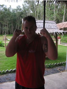 Losing weight while training MMA and Muay Thai in Thailand.