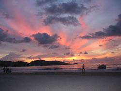 Sunset, Phuket, Thailand.