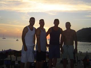 friends @ Nai Harn Beach, Phuket, Thailand