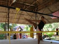 Muay Thai trainer @ Phuket, Thailand
